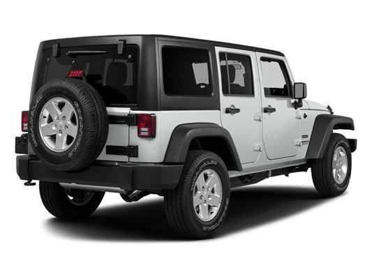 2017 Jeep Wrangler Unlimited Sport 4x4 In Freeport Ny Bmw Of