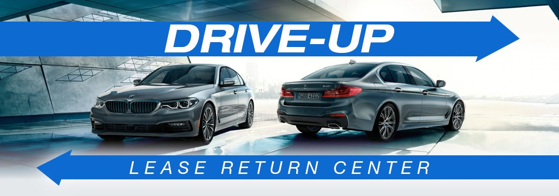 Drive-Up Lease Return Center | BMW of Freeport